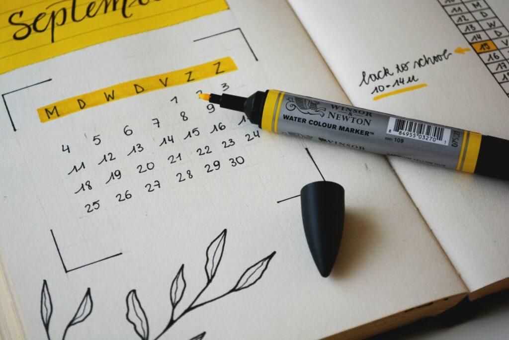 Calendario y horarios MPDI